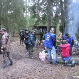 Восстановление туристского маршрута по местам боевой славы «Здесь сражались партизаны»